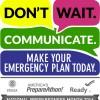 2016 National Preparedness Month Logo